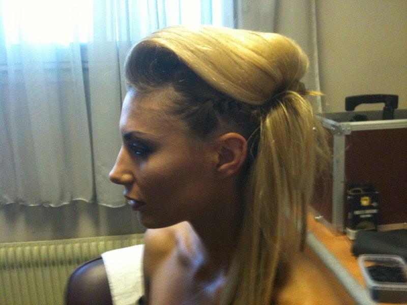 Ariane Brodier /coiffure par Fabian P