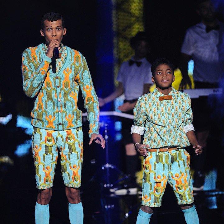 Stromae aux NRJ Music Awards coiffure par Fabian P
