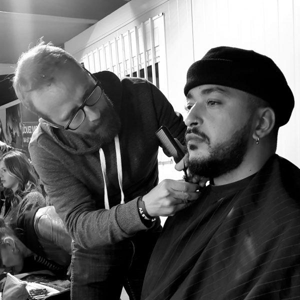 Fabian P, coiffeur professionnel d'expérience